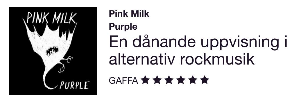 Pink Milk - GAFFA